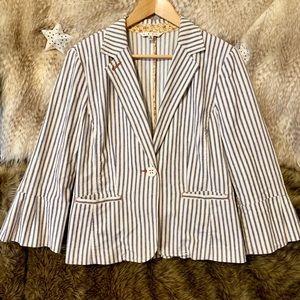 Cabi Pinstriped Blazer Jacket